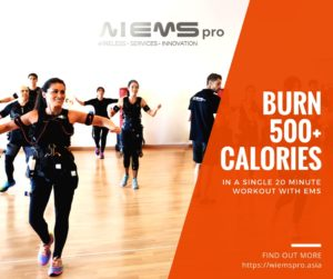 Burning Calories With Electrical Muscle Stimulation (EMS